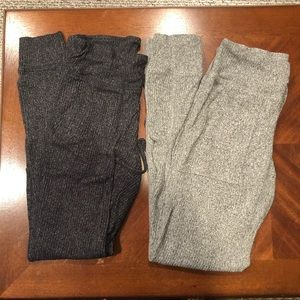 Aerie Ribbed Leggings (Set of two!)
